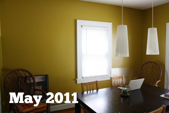 Dining room: May 2011