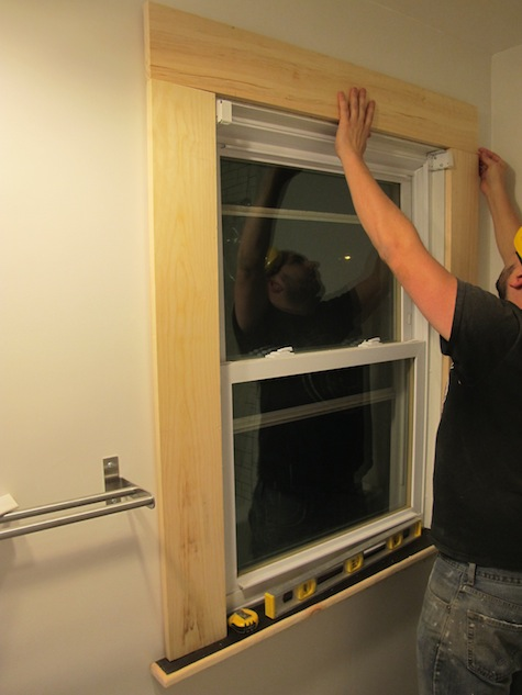 replace interior window trim awesome surrounding window with 6 how to cut and install your own diy window trim merrypad