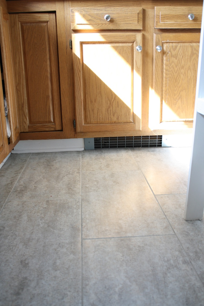 Kitchen Floor The Finishing Touches   merrypad