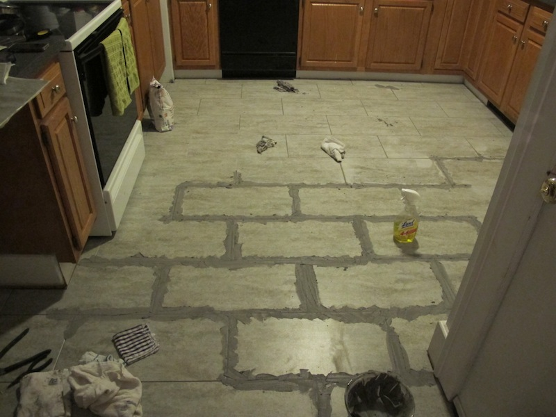 Tips For Installing A Kitchen Vinyl Tile Floor Merrypad