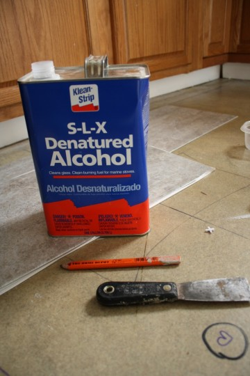 Always plan to clean the surface throughly. We prefer denatured alcohol to do the job.