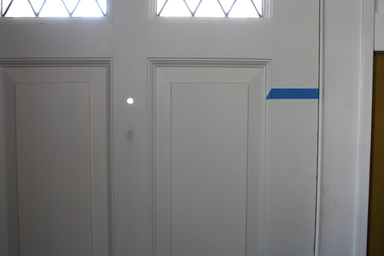 pg installing viewer install kit in door to at peep dw doors the a c ht home peephole how depot hole