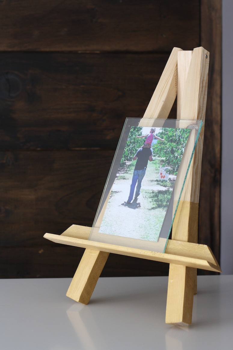 Diy easel picture frame merrypad jeuxipadfo Choice Image