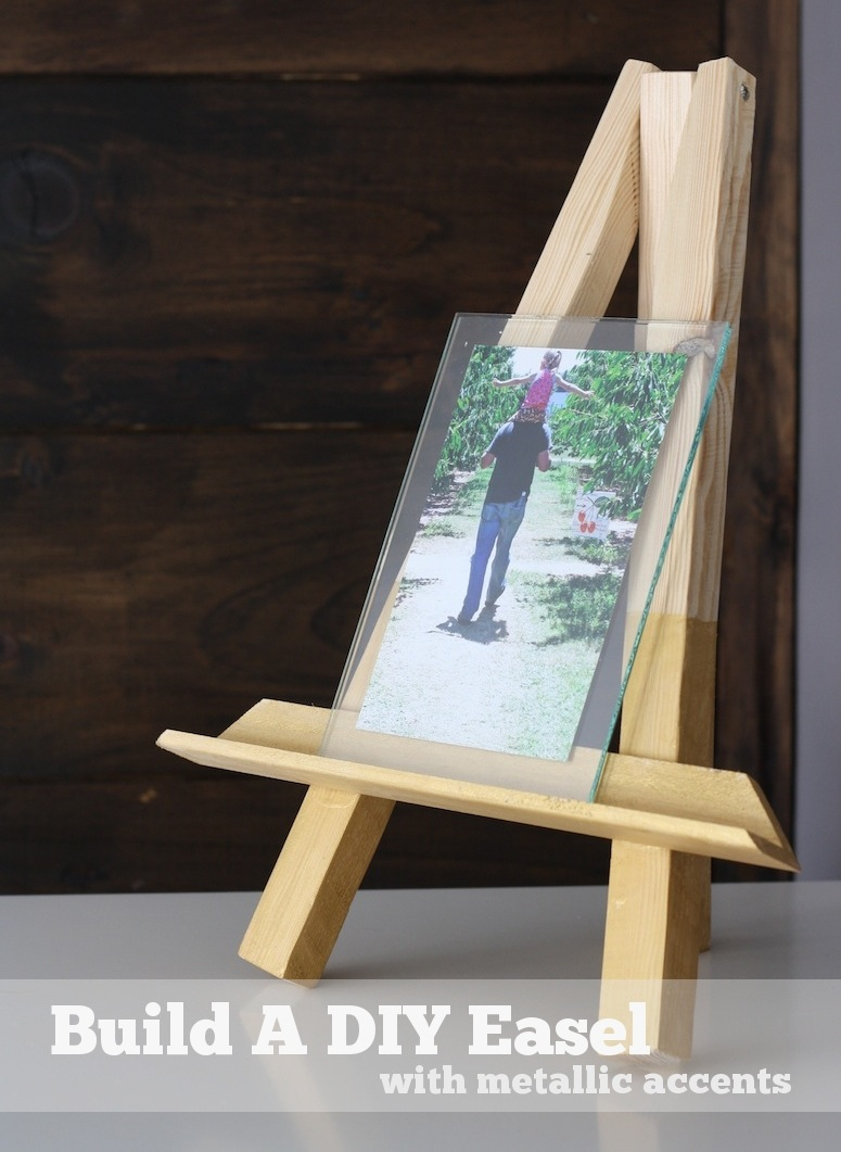 how to build a diy easel