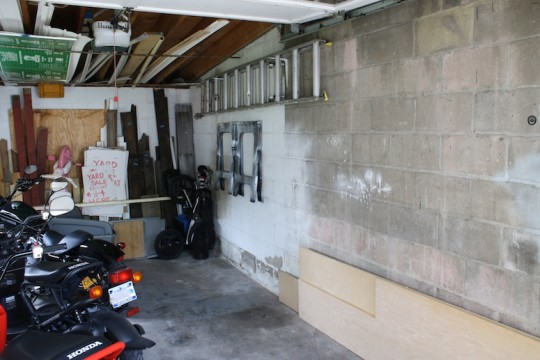 Serious garage progress. Needs some paint still, but how great is it to be organized for once?