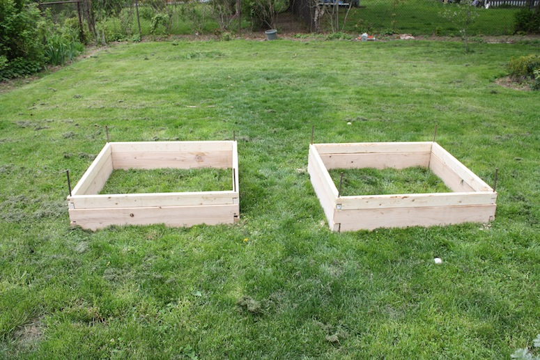 New set of planter boxes.