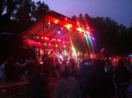 Events at night at Grassroots.