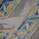Tiles at the Hassan II Mosque, Casablanca, Morocco.