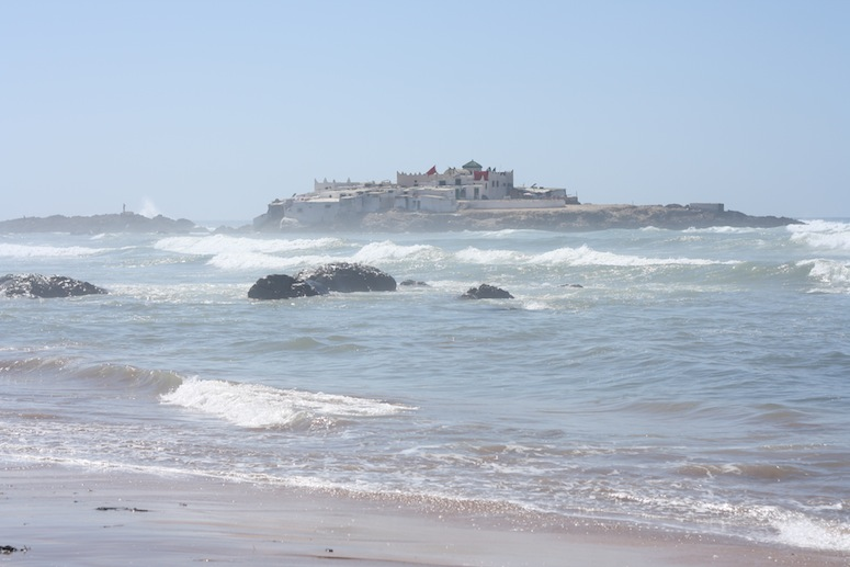 Atlantic Ocean, high tide. Casablanca, Morocco.