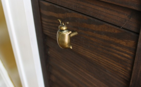 Cute Anthropologie Beetle Drawer Pulls.