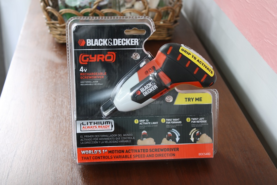 Hello, little Black & Decker GYRO. You make my year.