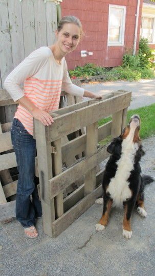 Jumbo palettes! Check out my latest DIY project on DIY Network.