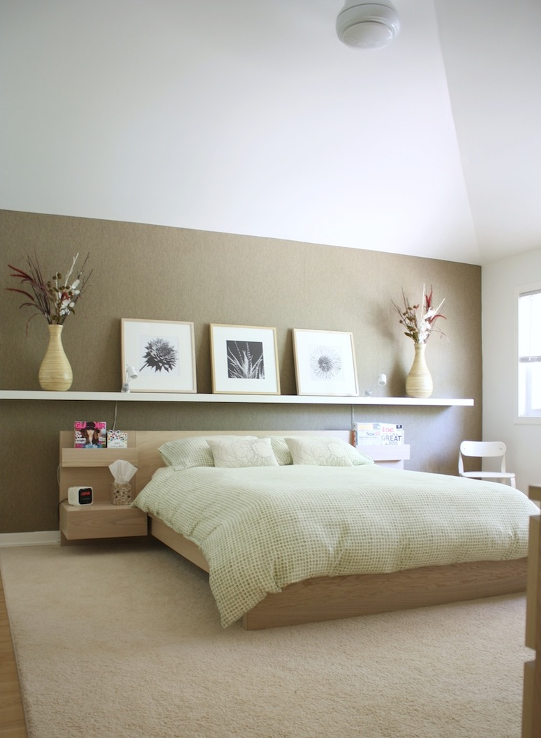 A modern suburban dream pad merrypad for Minimalist small bedroom ideas
