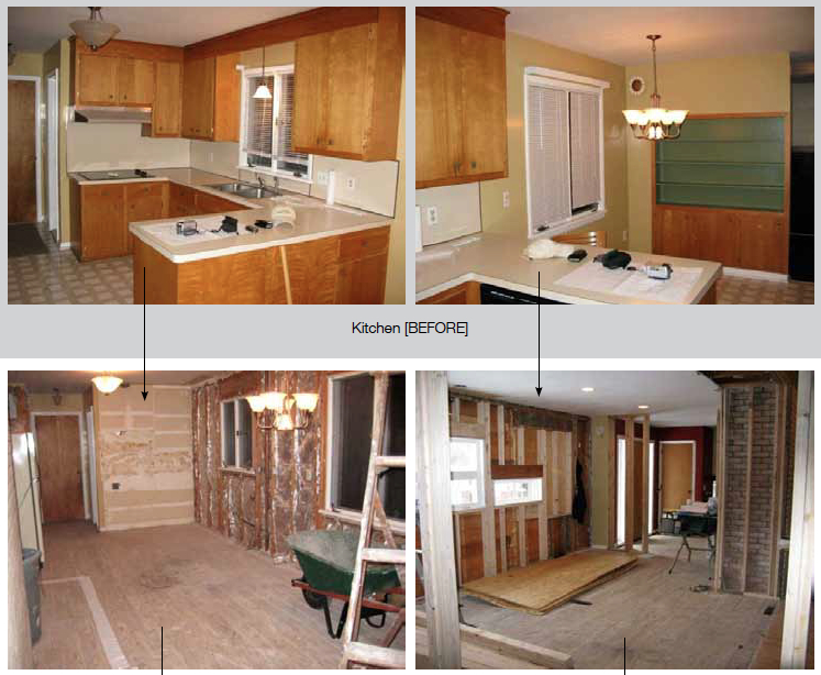 Donna and Pete's kitchen renovation.