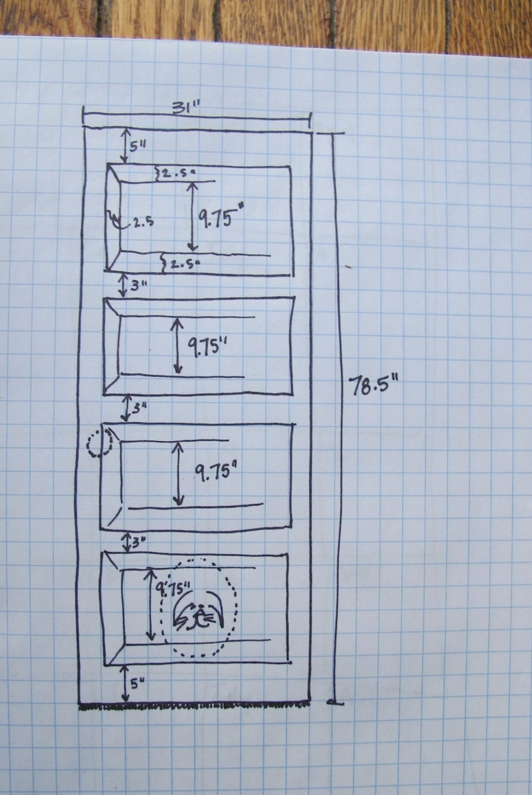 Plan out those door measurements carefully.
