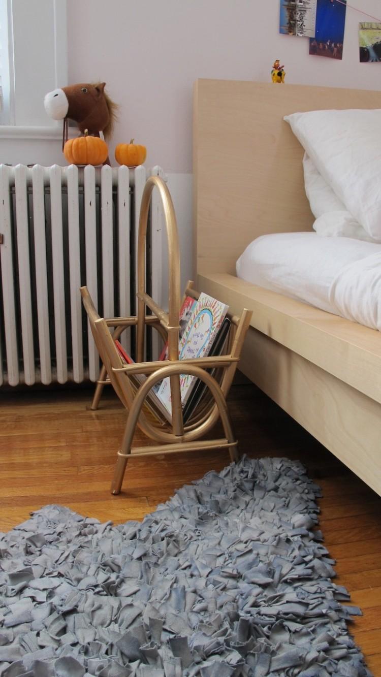 Bedside Magazine Rack.