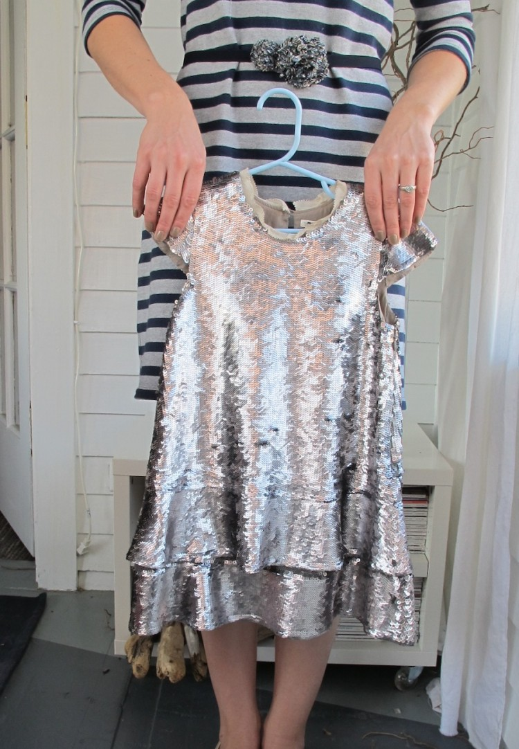Photos of this J.Crew Crewcuts sequin dress not on a kid don't do it justice.