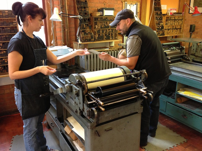Pete and Julia work with Chris to review a few sample runs of our invite.