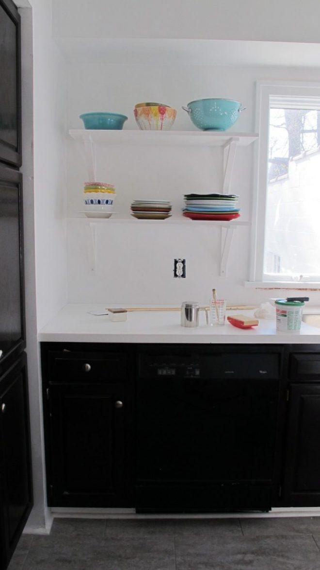 Gorgeous, bright new kitchen.