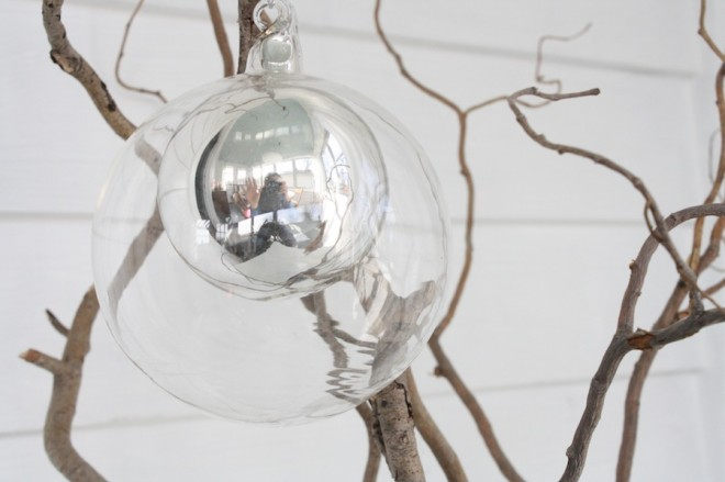 West Elm ornament.