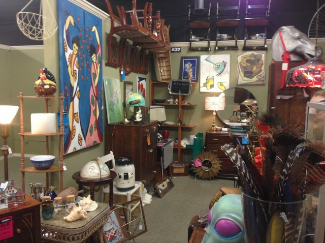 Salt & Ginger and Sadie's Stuff share this great space at The Shops on West Ridge. So much to look at!