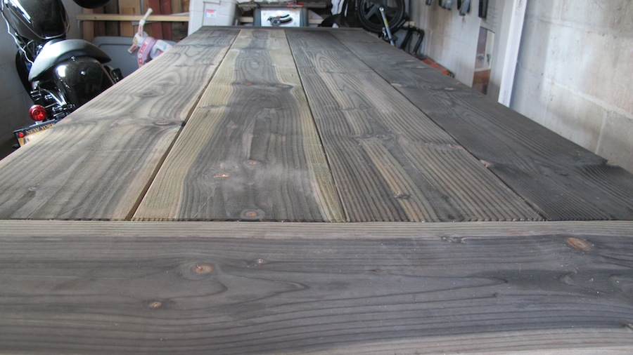 Diy Natural Stain For Rustic Tables Merrypad