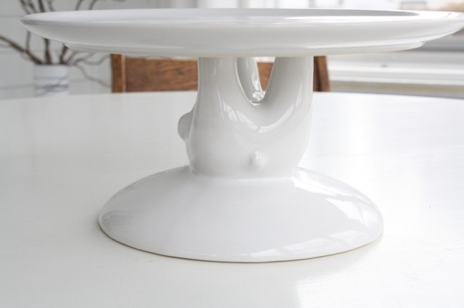 West Elm Bear Cake Stand