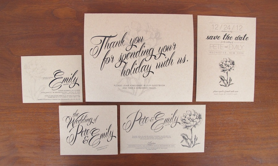 DIY Wedding Cards, Invites, and Programs | merrypad