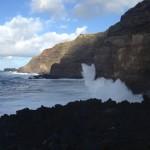 Impressive beach in the Azores.