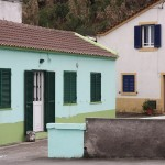 Homes in Mosteiros, Azores.