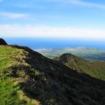 Amazing view in the Azores. // miniature effect