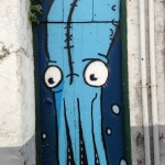 Street art in the Azores.