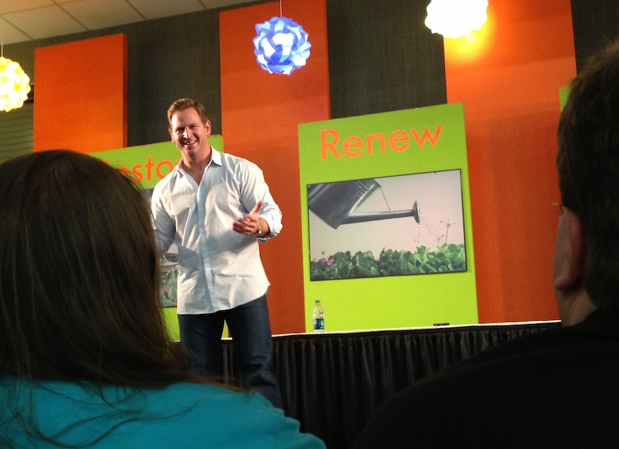 Jason Cameron Presents At The Buffalo Home Garden Show