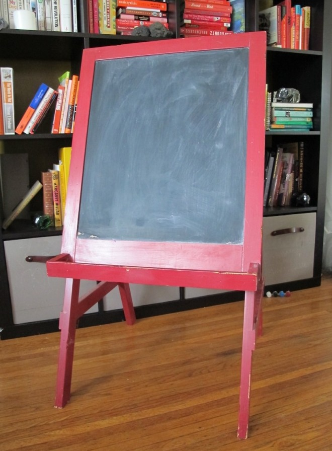 Chalkboard: Before.