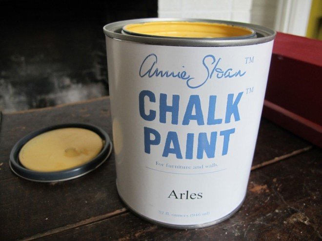 Arles chalk paint by Annie Sloan.