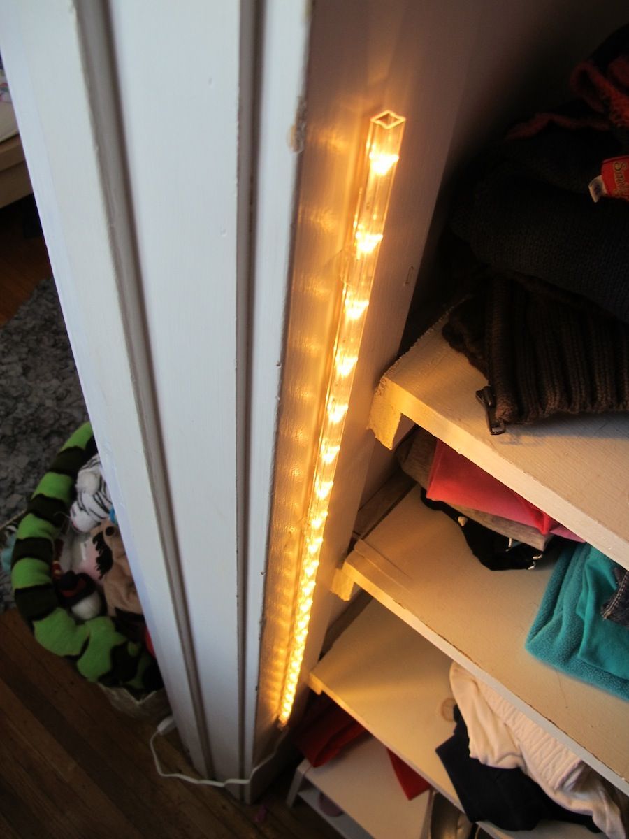 Design Closet Light a 15 closet lighting solution merrypad 30 led light strip from