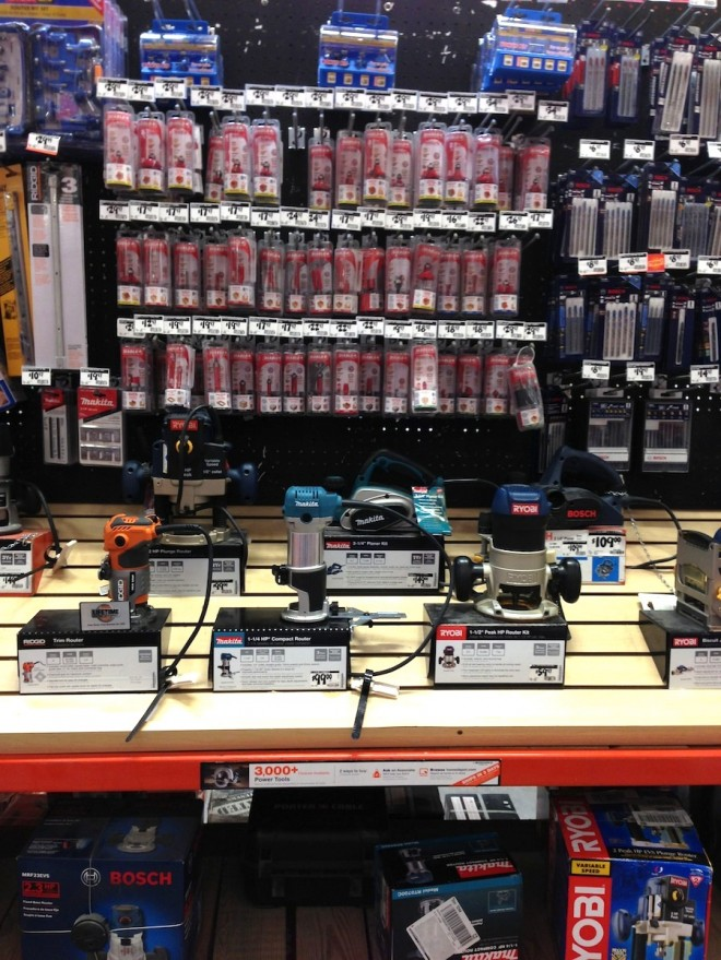 Shopping for routers, router bits, and router tables at The Home Depot.