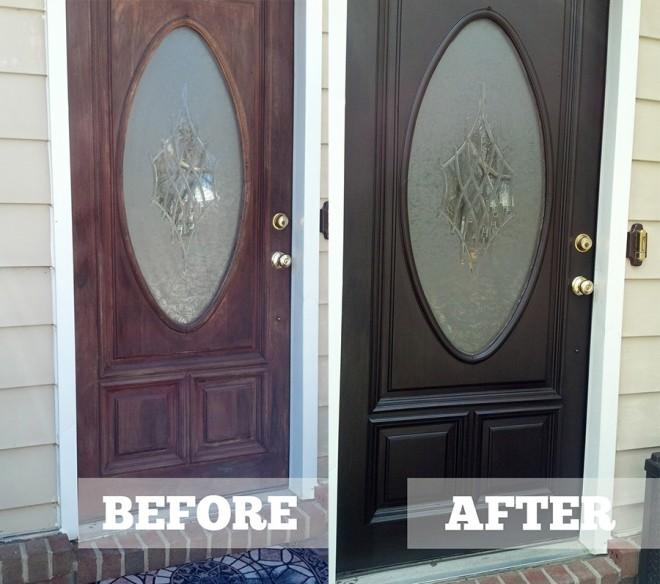 Diane S Java Gel Stained Entryway Door Merrypad