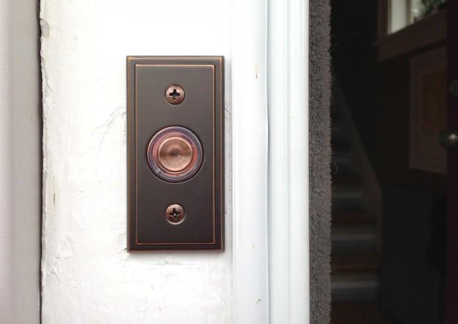 Replacement doorbell, bazinga.