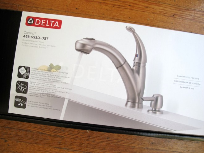 Delta Faucet Cicero for our kitchen.