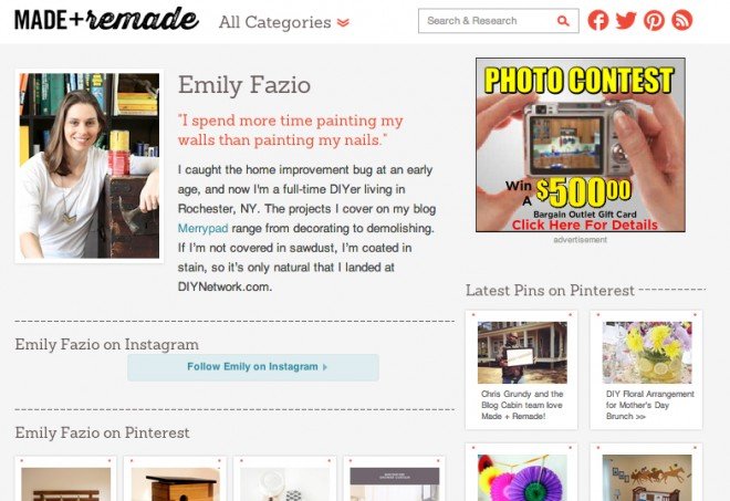 Made + Remade, the all-new DIY Network Blog.