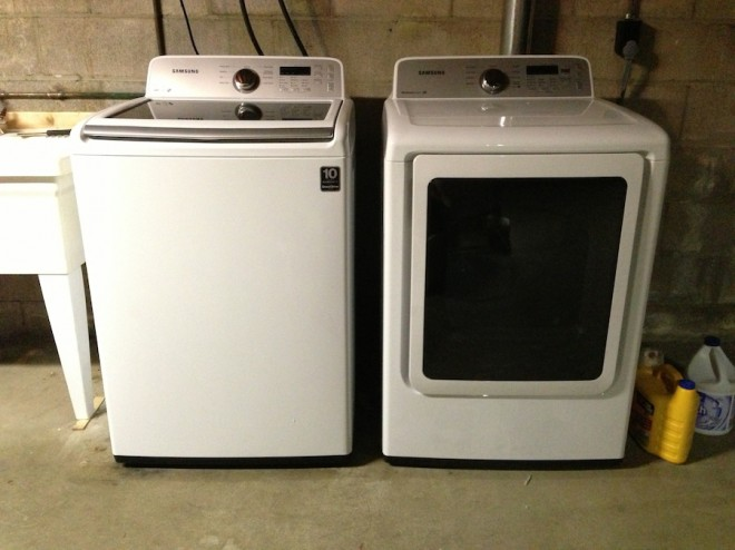 Our new Samsung washer and dryer