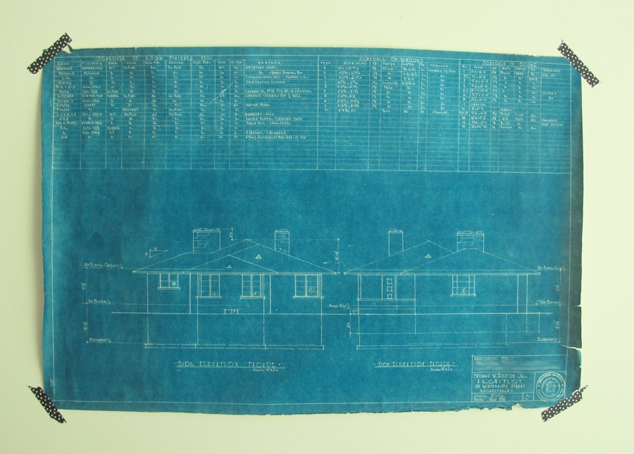 The original blueprints from our 1950s ranch merrypad blues clues malvernweather Images
