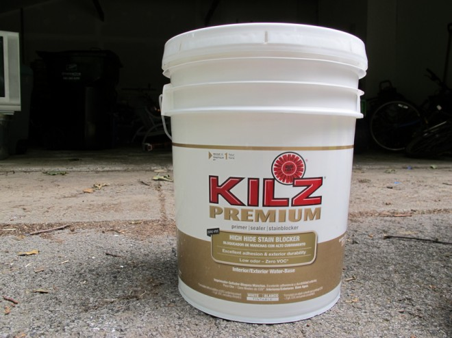 Kilz Premium, let's get this house lookin' clean.