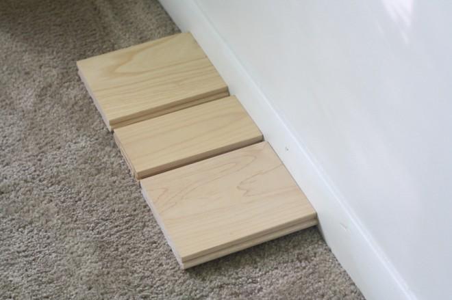 Our hardwood flooring options, the light wood floors.