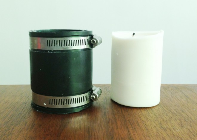How to make DIY pillar candles at home.