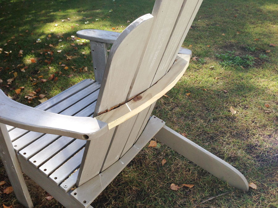 Great How to repair the back brace on an adirondack chair