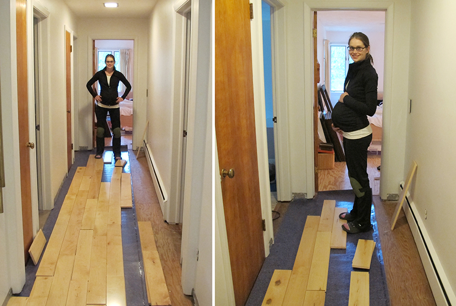 Learning How To Rack Our Maple Hardwood Flooring Merrypad