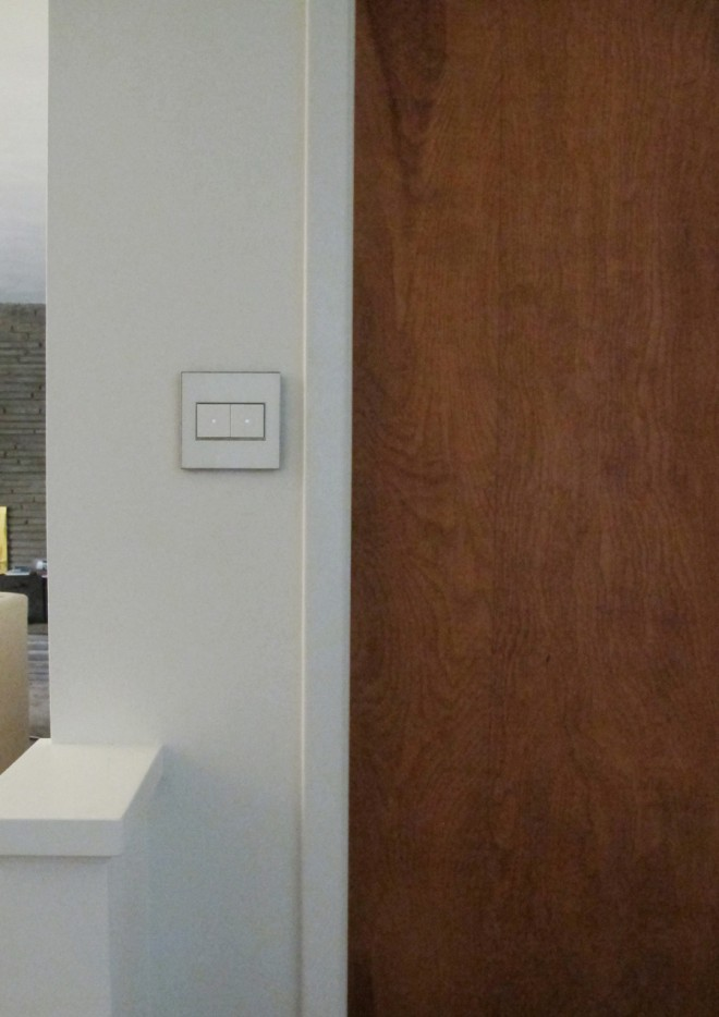 Installing the adorne by Legrand push button switches in our home.