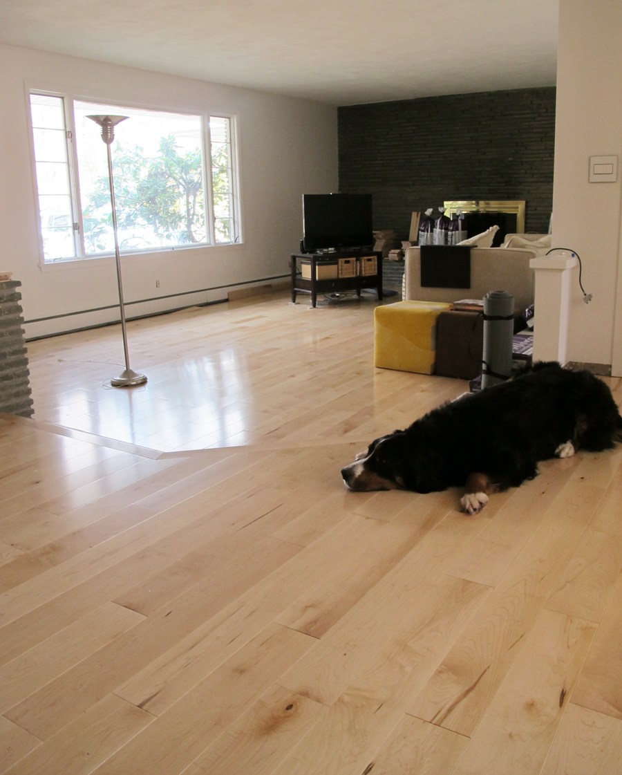Living rooms with hardwood flooring maple best site